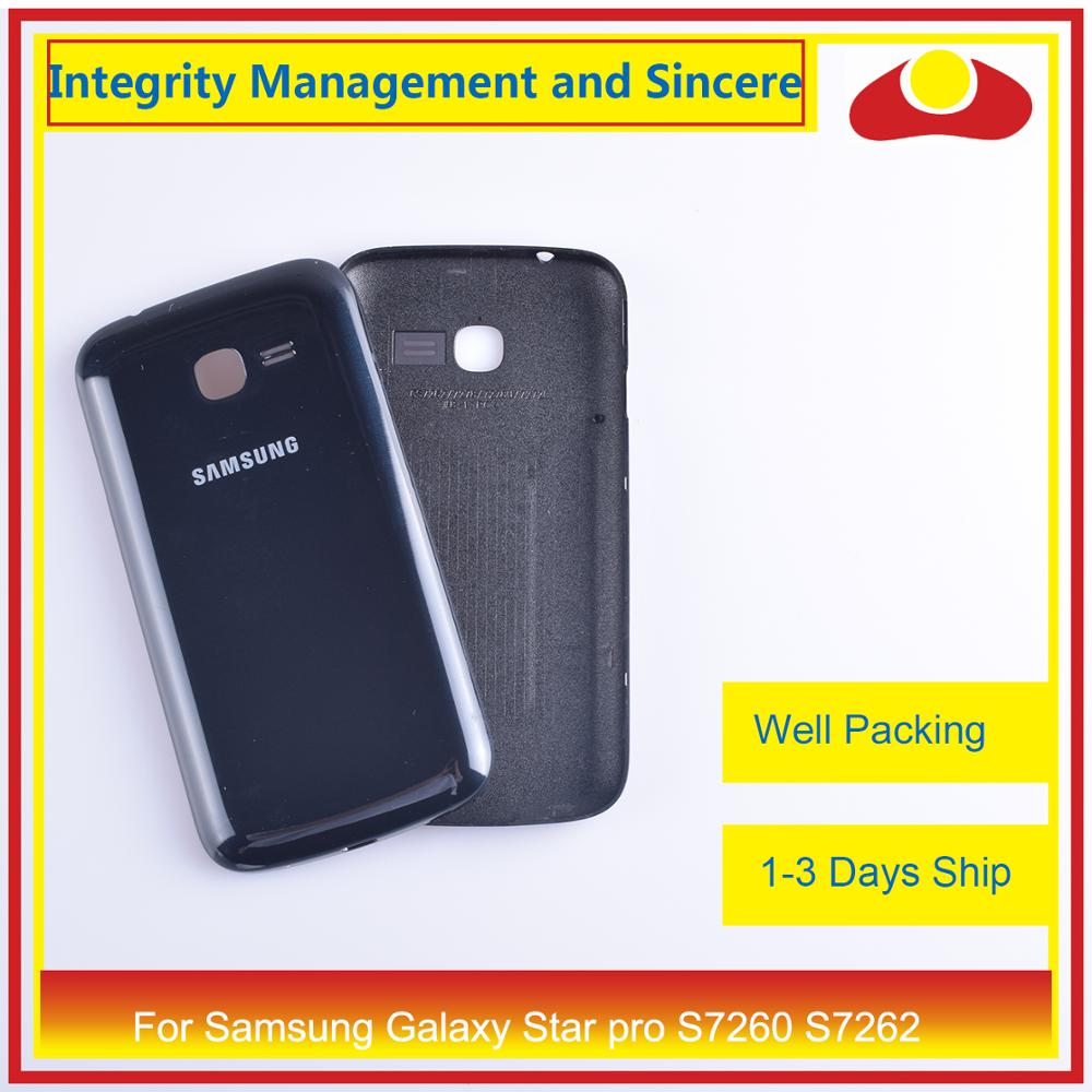 Image 5 - For Samsung Galaxy Star pro S7260 S7262 Housing Battery Door Rear Back Cover Case Chassis Shell Replacement-in Mobile Phone Housings & Frames from Cellphones & Telecommunications