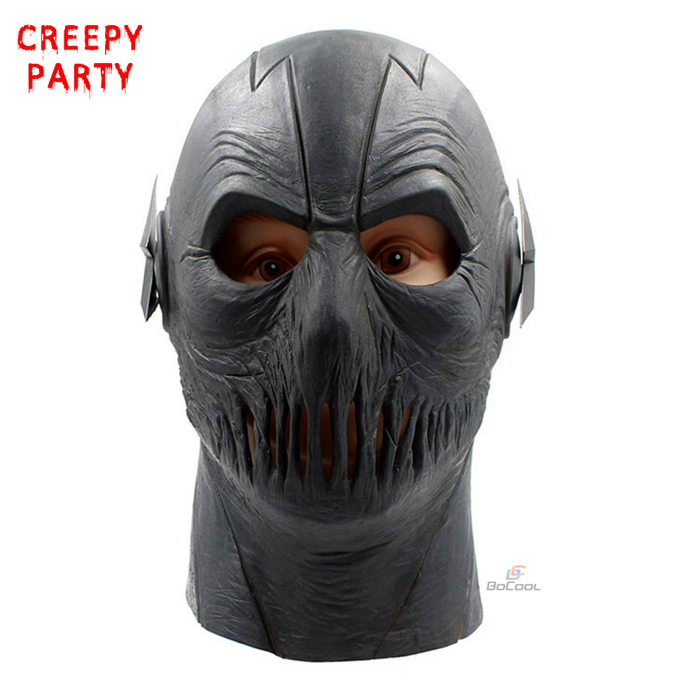 the flash masks movie superhero cosplay party mask halloween full head realistic latex mask dc
