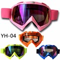 (1pc&4colors) 2017 Top Professional Brand YH04 Motocross Goggles ATV Lunette Mask&CS Sport Gafas Racing Motorcycle Glasses