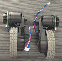 Original Right Wheel With Motor For Robot Vacuum Cleaner Ecovacs Deebot DT85 DT83 Robot Vacuum Cleaner