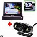 Auto estacionamento assistência sistema de câmera câmera traseira tipo de 4.3 polegada Flodable Monitor para carro para carro e segurança