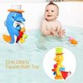 Новый Список Детей Кран Ванна Игрушка Детская Ванночка Игрушки в Ванной Комнате Дети Распыления Воды Инструмент Подарок Для Мальчиков Девочек Ребенка