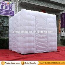 3x3x2,7 м надувные площади photo booth палатка светодиодный DJ стенд для вечерние Прямая продажа с фабрики