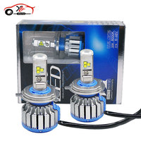 2pcs Super Bright Error Free Car Headlights H1 H3 H11 H7 H4 9005 9006 LED Auto