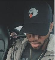 Bryson Tiller Hat American Rapper Singer Trapsoul Snapback Hip Hop Dad Hat Distressed Boo Mario Ghost