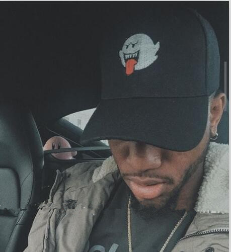 Bryson Tiller Hat American Rapper Singer Trapsoul Snapback Hip Hop Dad Hat Distressed Boo Mario Ghost Women Men Baseball Cap mannequin