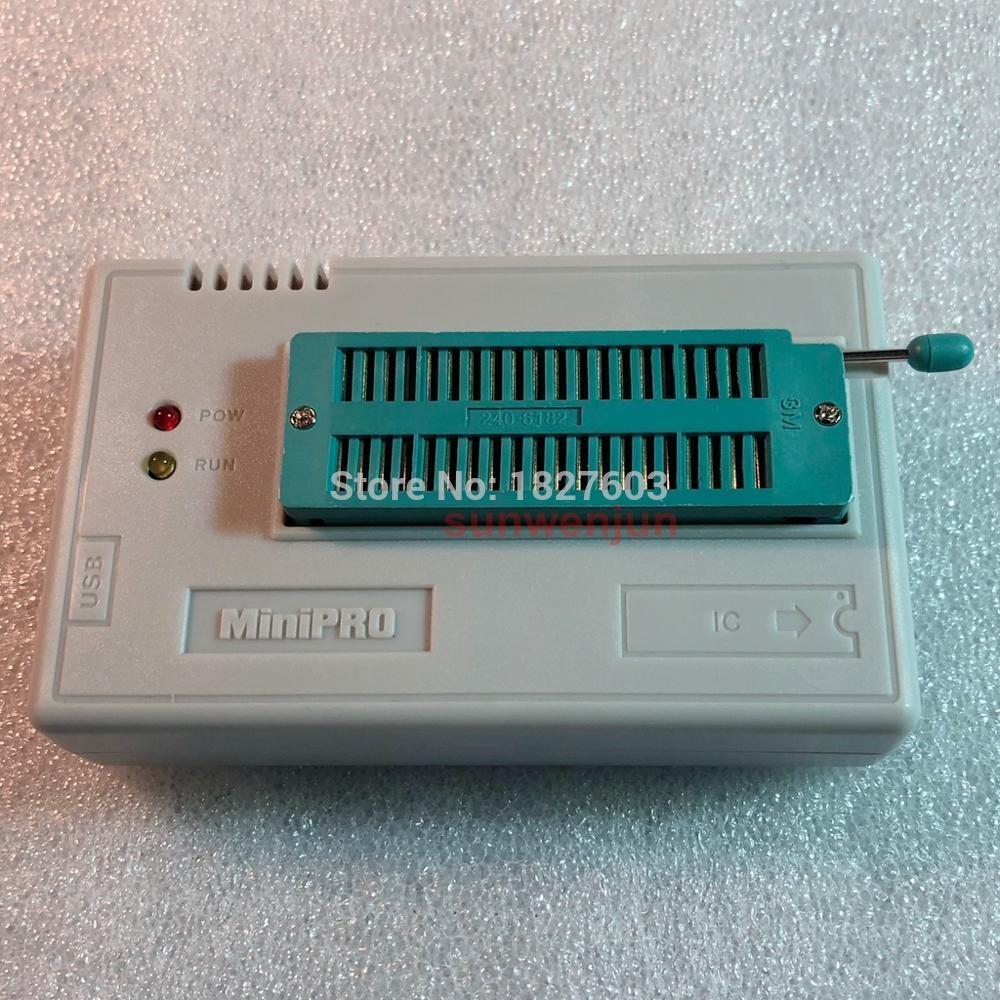 V9.00 XGecu TL866II Plus USB Programmer support15000 IC + 13PCS Adapter+SOP8 Testclip SPI NAND EEPROM MCU PIC AVR replace TL866A