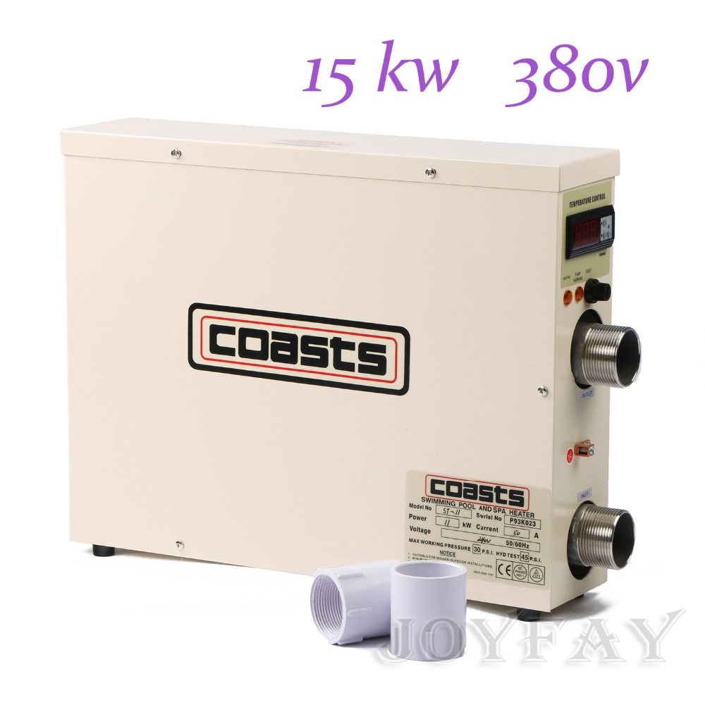 15KW 380V Electric Hot Tub Water Heater for Swimming Pool & Home ...