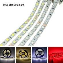 Led-Light Green Warm White 5050 Flexible RGB DC5V Red Blue 12V 24V 5meter/Roll
