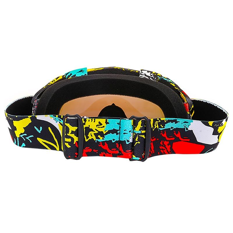 Профессиональные взрослых лыжные очки двойной анти-туман Лыжная маска Очки Лыжный Спорт Снег очки Очки для лыжного спорта