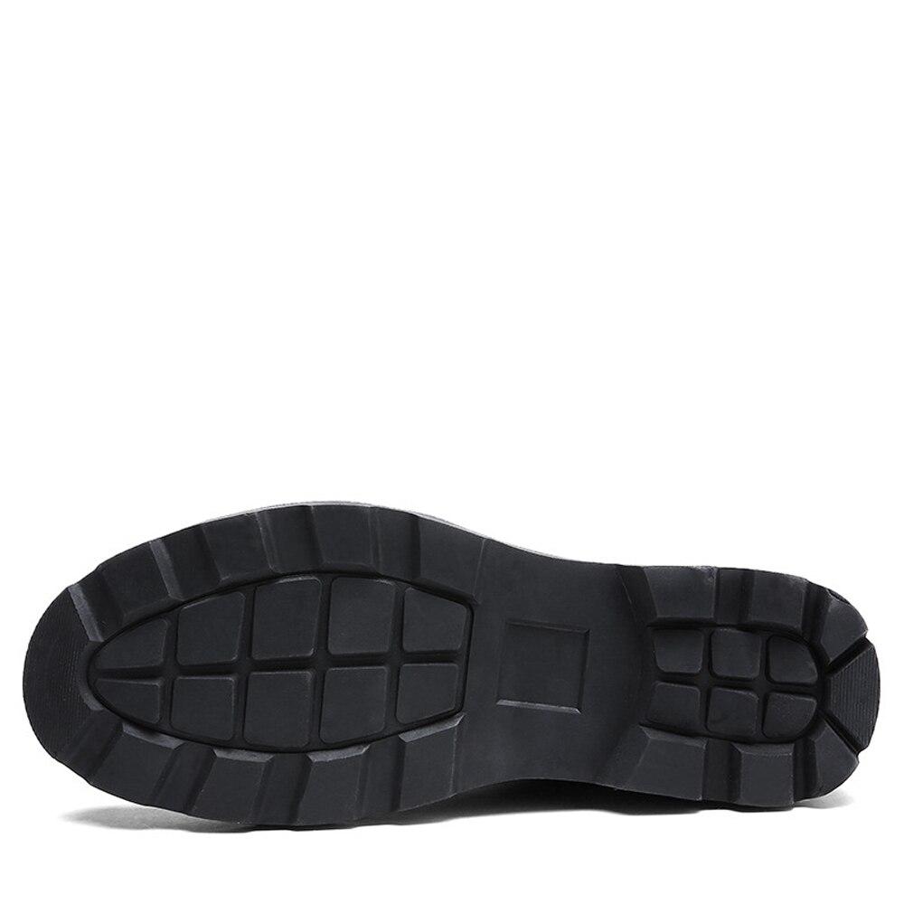 cad3309d60 Calçados Boots Outono Pelúcia Fur Prova De Água Homens Ankle Black gray  Para Qffaz Botas Inverno ...