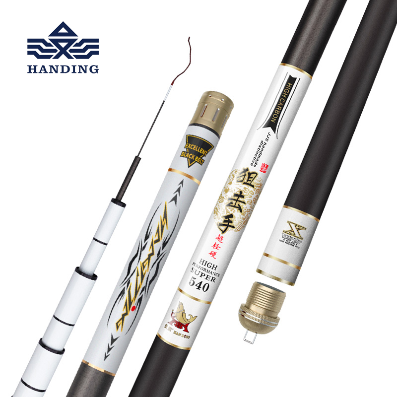 Handing pesca Ultra Light Telescopic fishing rod feeder Fishing Rod for carp fishing spinning rod Taiwan Fishing pole цена