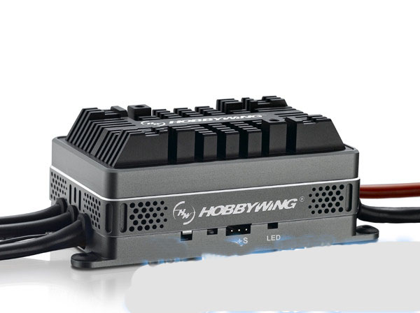 Yuenhoang 1 PC Hobbywing platine HV 200A ESC haute tension sans balai avec BEC sortie Transmission électrique pour RC 700-800 hélique