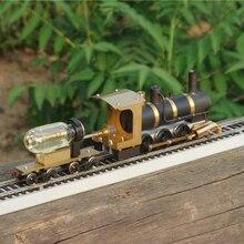 Паровой поезд модель Паровозик модель паровой привод HO пропорции живой паровой двигатель