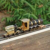 Steam Train Model Steam Locomotive Model Steam Drive HO Proportion Live Steam Engine