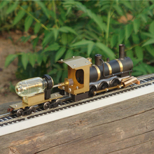Паровой поезд модель паровой модель локомотива паровой привод HO пропорции живой паровой двигатель