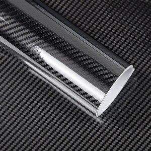 Image 5 - Film autocollant de voiture, Film vinyle, en Fiber de carbone 3D 4D, 3M, étanche, bricolage avec emballage de détail, moto, 200x50cm