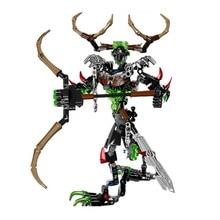 XSZ 611 - 3 biochemical bioniclemask Bionicle umarak Hunter warrior of light bricks building block best toys