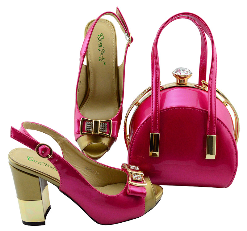 Italian Design Shoes Matching Bag Set For Wedding Party Fashion Nigeria shoes African Smooth Material Women Shoes and Bags MD001 italian design pink color shoes with matching bag set for wedding party nigeria new fashion women pumps shoes and bags mm1060