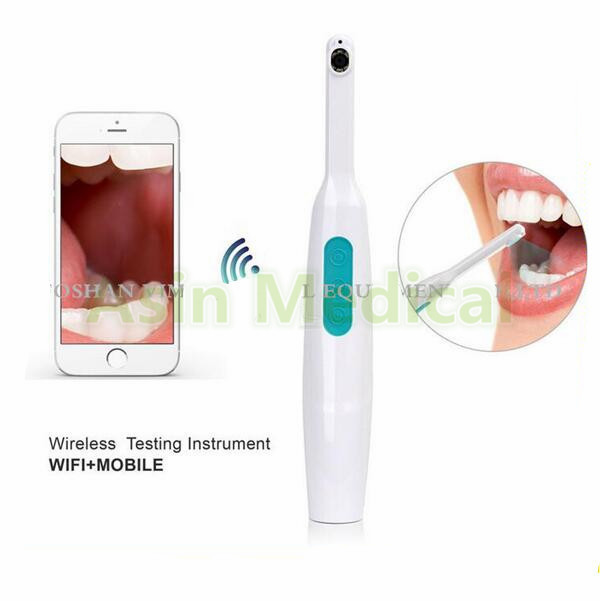 2017 New 720P Wireless wi-fi Dental Intraoral Camera Wireless LED Monitoring Watch for Oral-Real-time Video Dentist for iPhone