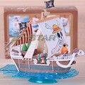 """Бесплатная Доставка Прохладный 7 """"One Piece Соломенная Шляпка Пираты Лодка Going Merry Пиратский Корабль 18 см В Штучной Упаковке ПВХ Коллекция Модель Игрушка в Подарок"""