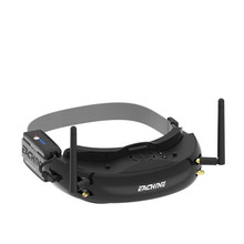 EV200D 1280*720 5,8G 72CH истинное разнообразие FPV очки HD порт в 2D/3D встроенный DVR для радиоуправляемого дрона VS EV100D черный белый