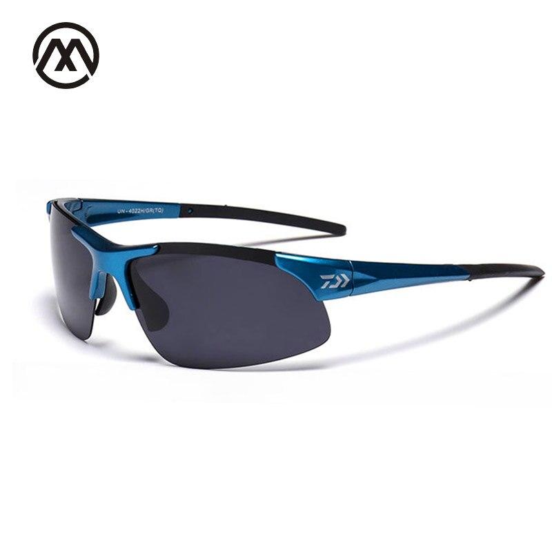 Günstige großhandel DAIWA marke desigen Hohe Qualität UV400 sonnenbrille für Fahren angeln Mann Goggles Driving sonnenbrille oculos