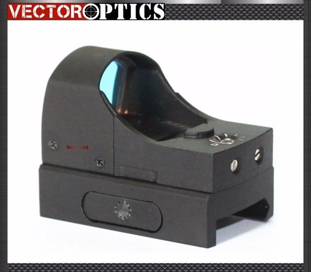 Vector Optics 1x22 Camera Micro Reflex Red Dot Scope with 3 MOA Dot Mini Weapon Gun Sight fit 21mm Weaver or 11mm Dovetail Rail