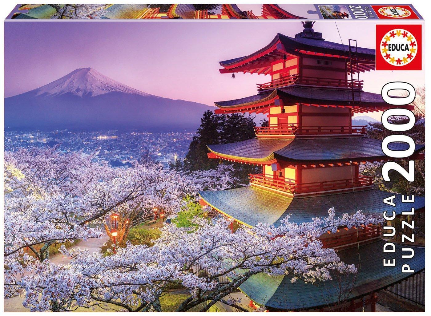 Educa japon Mt. Fuji puzzle 2000 pièces - 2