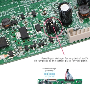 Image 4 - 3663 New Digital Signal DVB C DVB T2 DVB T Universal LCD TV Controller Driver Board UPGRADE 3463A Russian USB play LUA63A82