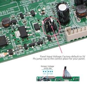 Image 4 - 3663 yeni dijital sinyal DVB C DVB T2 DVB T evrensel LCD TV denetleyici sürücü panosu yükseltme 3463A rus USB oyun LUA63A82