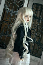 BJD doll wigs long loose wave hairs with bangs available for 1/3 BJD DD SD doll accessories hair wigs