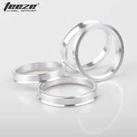 4pcs/set OD 74.1 to ID 54.1 aluminum car wheel hub rings auto accessories free shipping