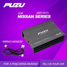 PUZU 31 bant EQ amplifikatör dahili 4X150W araba DSP amplifikatör NISSAN x trail için kuyruk kablo demeti ile destek bluetooth USB AUX