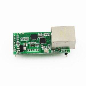 Image 4 - Q18042 USR TCP232 T2 זעיר סידורי Ethernet ממיר מודול סידורי UART TTL כדי Ethernet TCPIP מודול תמיכה DHCP ו dns