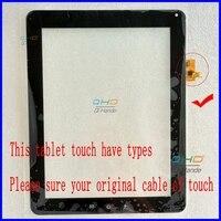 Nowy na Widok Sonic ViewPad 10e 9.7 ''calowy Tablet PC ekran dotykowy panel szkło digitizer czujnik, darmowa wysyłka