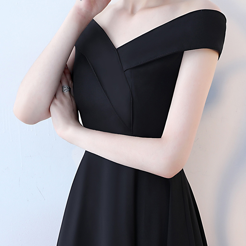 163960d84796f US $79.21 11% OFF|Simple Black Evening Gowns 2018 New Sexy Sweetheart Lace  Up A Line Formal Evening Dress Long Evening Party Dresses Custom Made-in ...