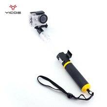 Подводный Водонепроницаемый прозрачный палка для селфи монопод Штатив отдаленных держатель для GoPro Session Go Pro 5 4 3 Xiaomi Yi 4 К SJ4000