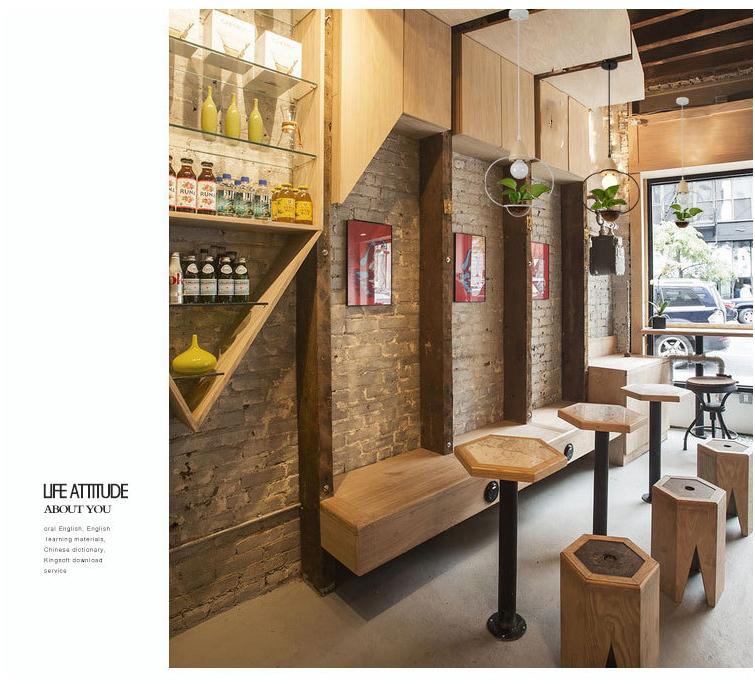 Led Plant Pendant Light With Wood For Bar Restaurant