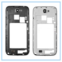 For Samsung Galaxy Note 2 II N7105 Original New Middle Frame Housing White Grey Bezel Frame