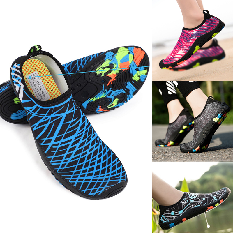 Barefoot Men Spring Walking Water Shoes Casual Non-Slip Hiking Beach Shoes