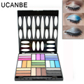 Ucanbe 27 Colors Professional Eyeshadow Palette Naked Maquiagem Matte Makeup Glitter Eye Shadow Nude with Brush Beauty Tool Kits