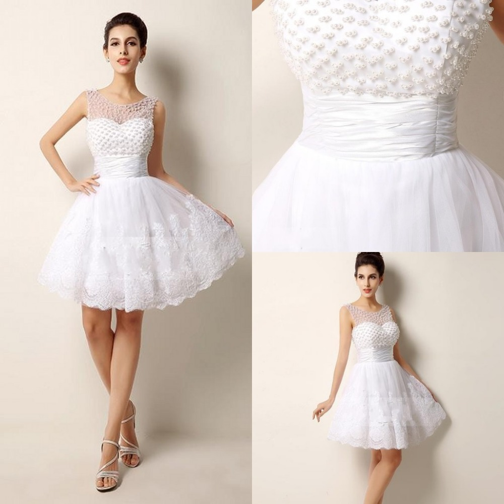 Sexy hot sale beach wedding dress pearls beading lace for Wedding dresses sale online