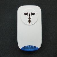 WIFI Smart Socket voor Home Security Draadloze Afstandsbediening Schakelaar Controle Alarm Systeem 433 MHz 110 V ~ 220 V-in Alarmsysteem van Veiligheid en bescherming op