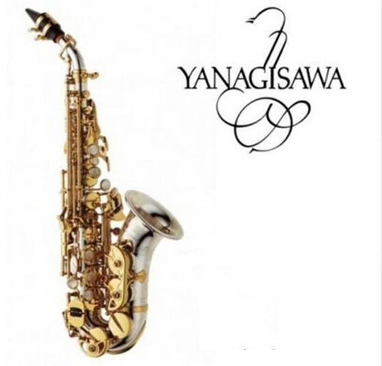 2019 высококачественные бренды Янагисава SC 9937 сопрано саксофоны серебрение латунь Sax Professional и мундштук бесплатная