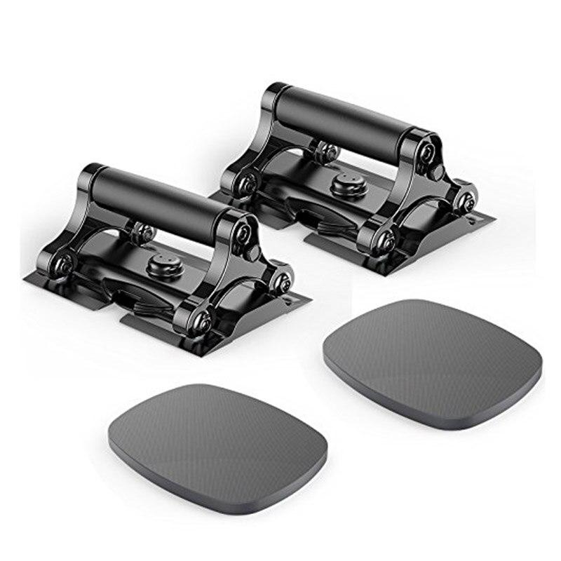 3 в 1 Ab Ролики комплект отжимания Training Фитнес оборудование домашний спортзал тренировки мышцы брюшной колеса + 2 наколенники тормозной пласт...