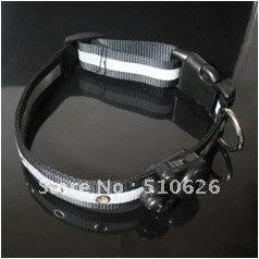 UW-PC-021 LED dog collar,flashing pet collar, lighted dog collar with free shipping