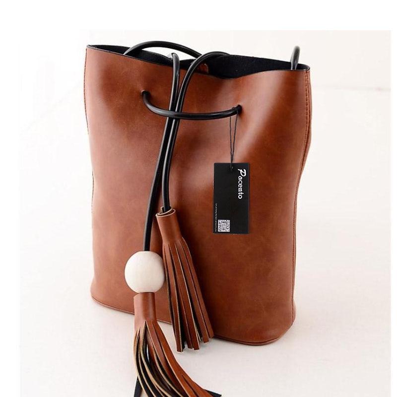 2017 New Luxury Handbags Women Bags Designer Famous Brands Vintage Bucket Bag Sling Bag Shoulder Satchel Canta Bolsas Femininas casual canvas satchel men sling bag