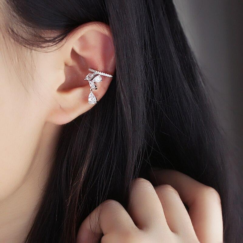 Qepje Veshmbathje Veshjet e Clip Ujit Bizhuteri Zirconia Crystal - Bizhuteri të modës - Foto 3