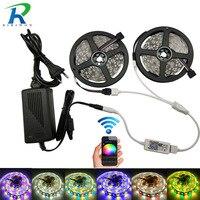 5m Roll 10m 5050 LED Strip Light DC12V RGBW RGBWW Holiday Decoration WiFi Controller LED String